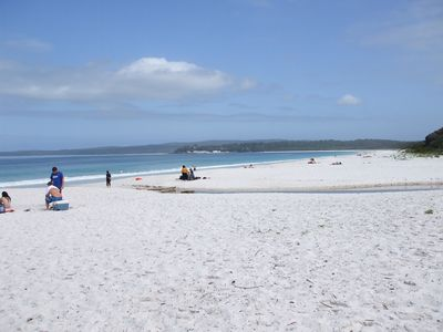 So many wonderful Jervis Bay beaches only a few minutes away