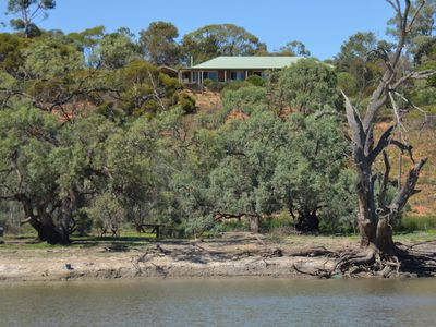 View of the house from Pike River.