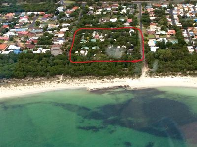 Sandy Bay Holiday Park aerial