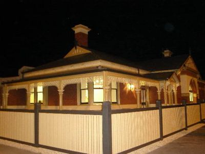 Condel Inn at night