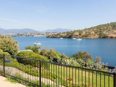 Amazing water views from Karinya's front steps