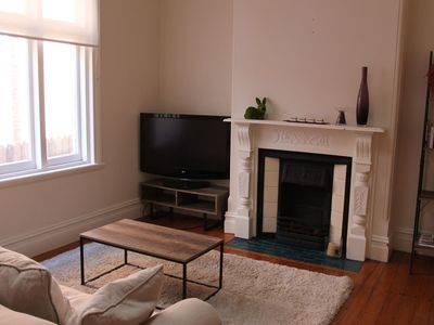 Living room with TV
