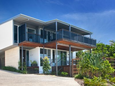 Ocean view frontage of House Two at 42 Avocet Parade