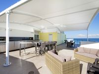 Private Rooftop Overlooking the Oceanfront upstairs, lounge, dry bar