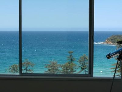The ocean through your window