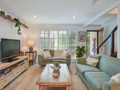 Newly renovated beach home with open plan living