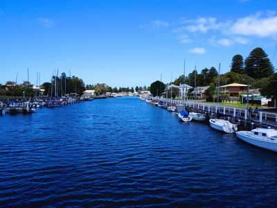 One of the beautiful scenes Port Fairy has to offer
