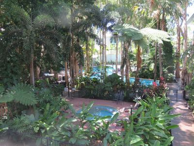 The Pool - The Spa - The fabulous Rainforest Gardens