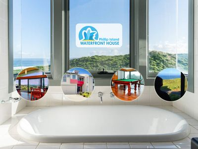 Amazing Southern Ocean Views from the bath tub.