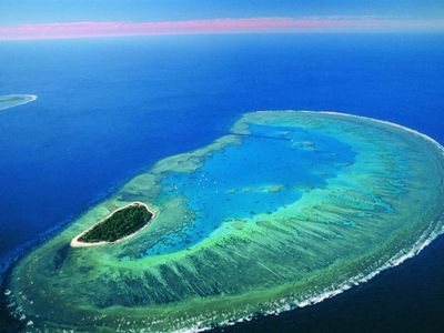 Famous nearby tourist attraction - Lady Musgrave Island