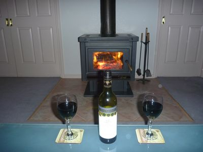 Relax by the fire, wood supplied whilst sampling local wine & food