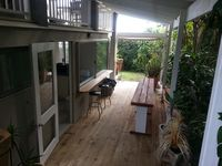 ground floor 2 bedroom ,full kitchen and laundry, private outdoor area