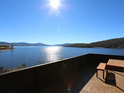 Lake view from balcony