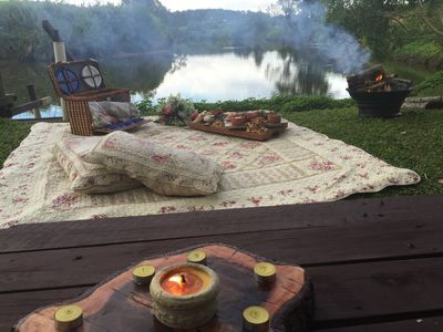 Romantic Picnic & fire for 2