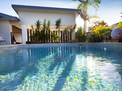 The whole family will love the inviting swiming pool
