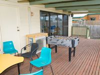 Undercover Decking Area