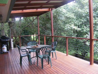 Large Deck with extended living areas