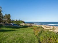 100m to Sharkey beach from house, looking north