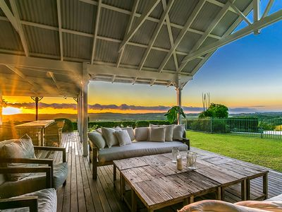 The perfect place to enjoy the breathtaking views of Byron Hinterland