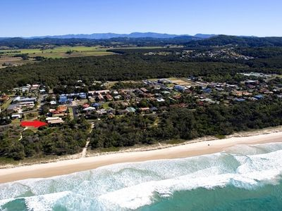 Balaka -absolute beachfront at Pottsville Beach  rated 5 stars by guests
