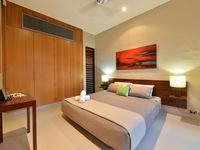 Bedroom 3 can be set up as 2 king single beds