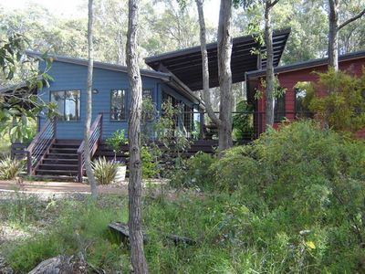 Set on 1 hectare of bushland