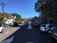 View Looking Down Ebley Street to Newland Street & Clementson Park