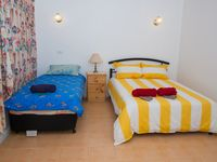 Bed Room 1 - 1 double with 1 or 2 single beds