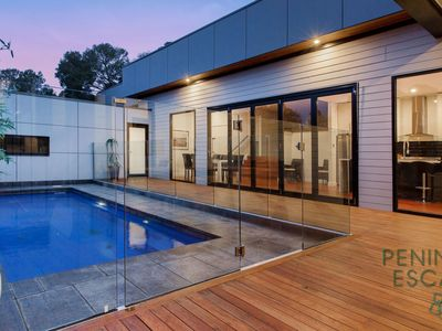 In-ground Solar Heated Pool & Deck