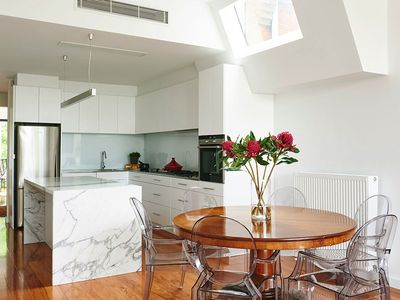 You'll love the well designed open plan kitchen
