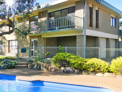 Spacious upstairs 3 bedroom apartment adjacent pool