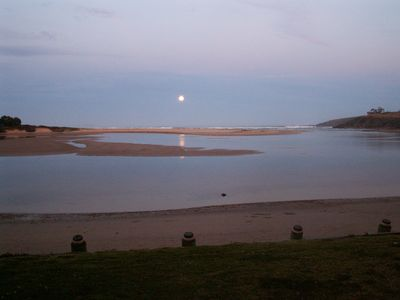 Moonee Beach at night