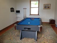 Games Room with pool and table tennis