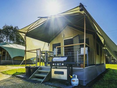 Glamping Eco Tent Exterior