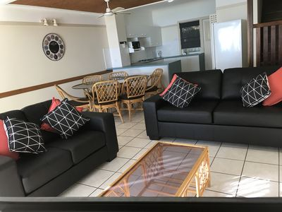 Two lounges, one has double sofa bed