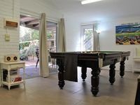 Games Room and patio