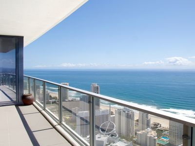 Amazing view 56 floors up...over Surfers Paradise beaches