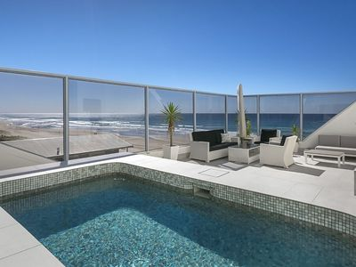 Private roof deck with pool, stunning ocean views