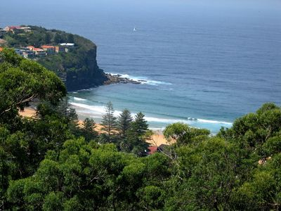 Check out the surf at Bilgola Beach right from your deck