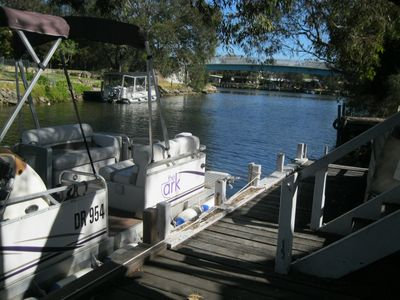 Easy access to the Murray River and estuary