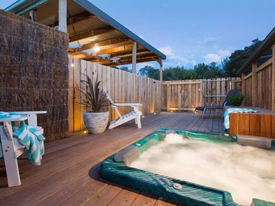 Outdoor Secluded Spa Deck