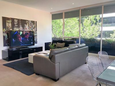 """Living Room extra large 55"""" LCD TV"""