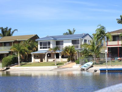 Our house from Crystal Waters