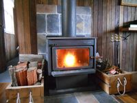 Cosy wood fire for those cold mountain nights