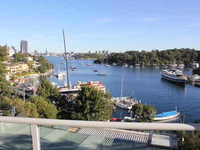 House views over Berry's Bay and Darling Harbour