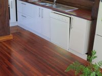 Modern kitchen with dishwasher & very well stocked
