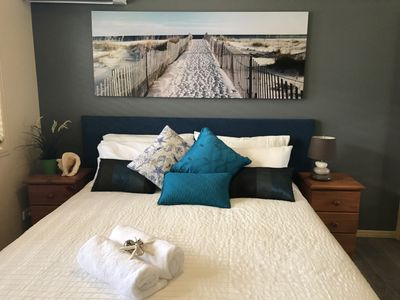 King Bed with Topper 1