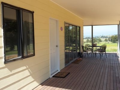 Welcome to Lavendar Cottage - relax on the front north-facing verandah