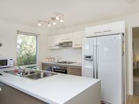 Contemporary kitchen with dishwasher