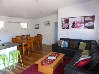 Lounge, Kitchen and Dining area